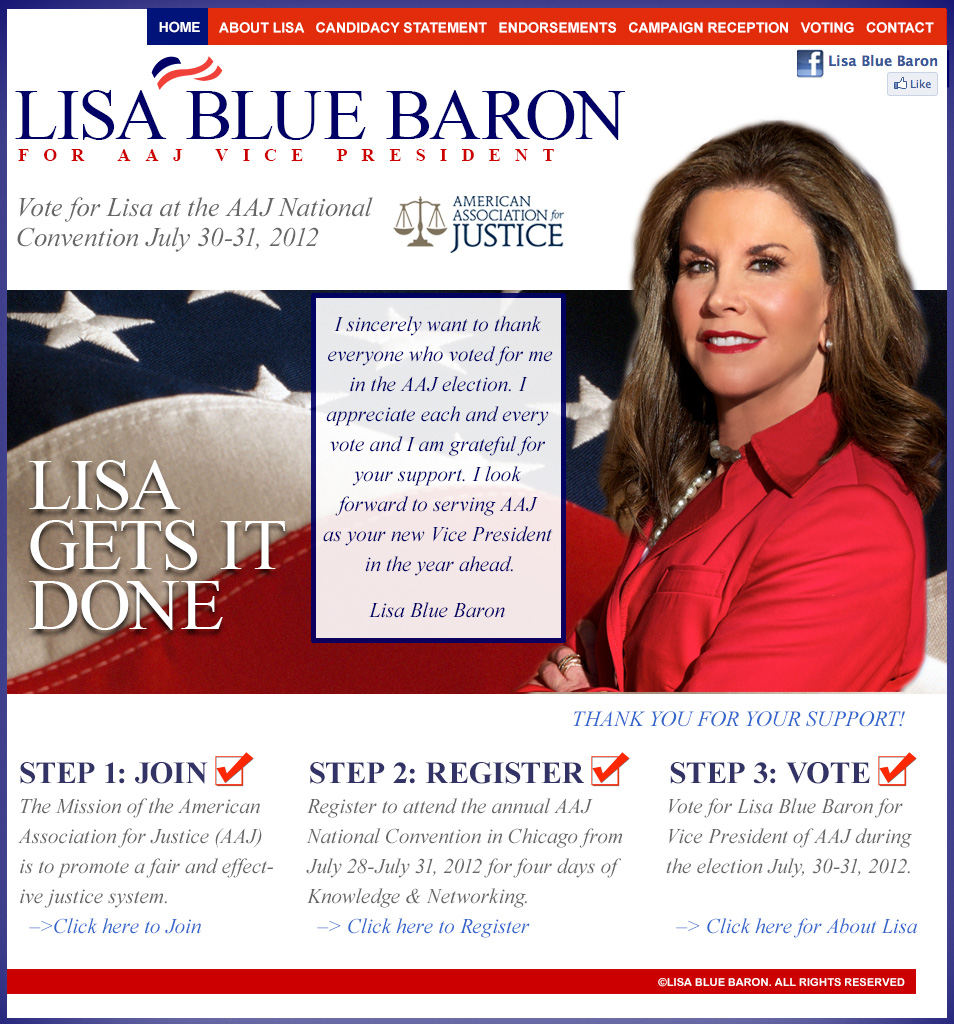 Lisa Blue Baron for AAJ